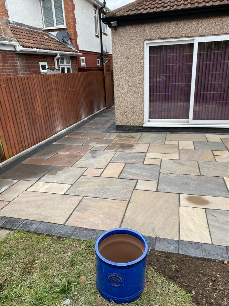 Garden maintenance and refurbishment project in Bedworth